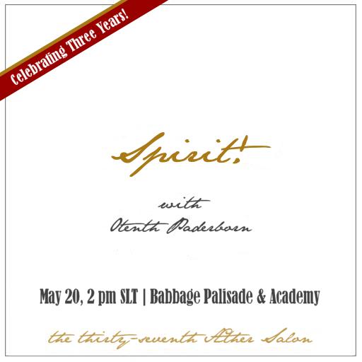 Aether Salon:  Spirit!