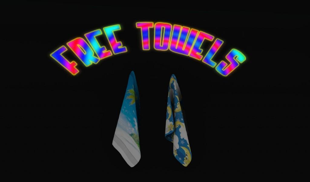 01 Free Towels