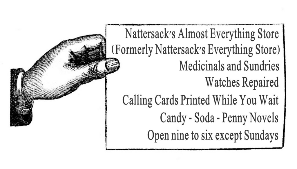 Nattersacks Almost Everything Store