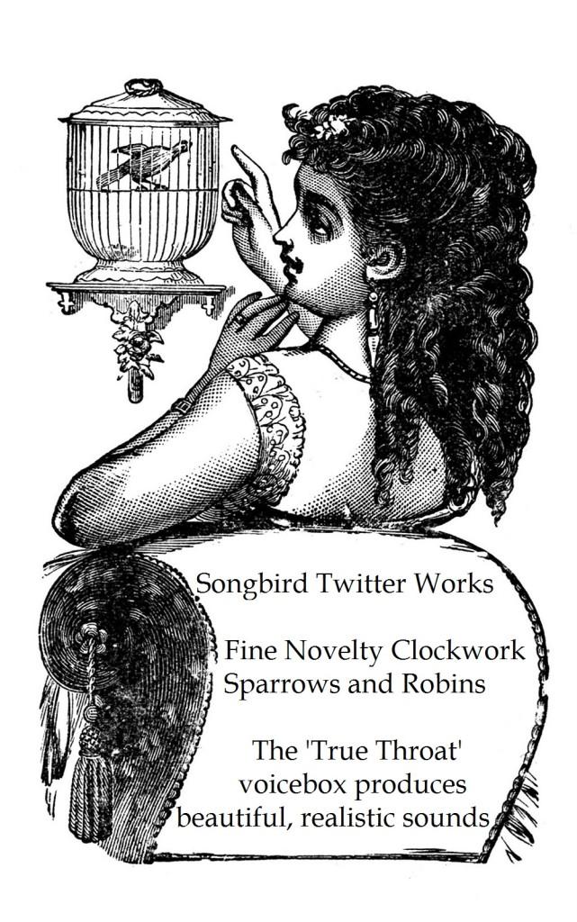 Songbird Twitter Works Ad