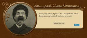 Steampunk Curse Generator