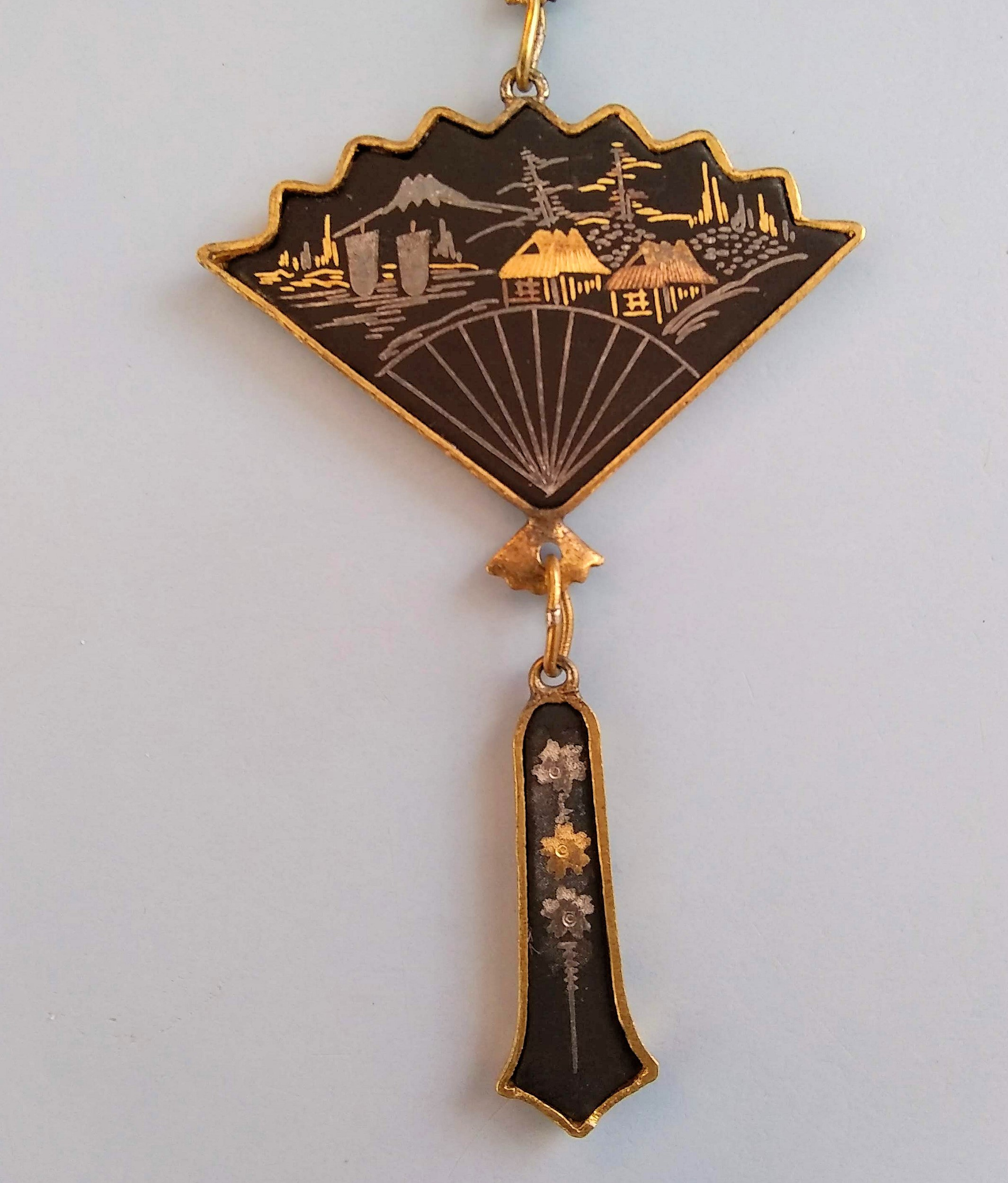 Restored Damascene Necklace