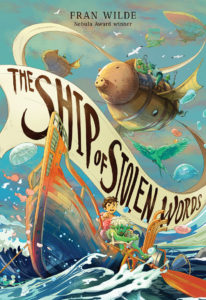The Ship of Stolen Words Cover Art
